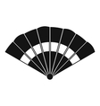 Fan icon simple style vector image vector image