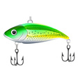 Fishing bait vector image vector image