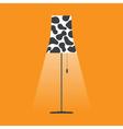 floor lamp vector image vector image