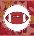 football sport ball vector image vector image