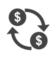 Move Currency vector image vector image