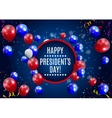 Presidents Day in USA Background Can Be Used as vector image vector image