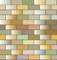 Seamless texture with tiles vector image vector image