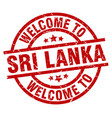 Welcome to sri lanka red stamp