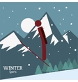 Winter Sport design vector image