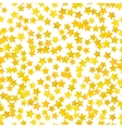 Abstract yellow star background vector image vector image