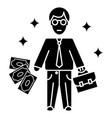 businessman icon sign o vector image