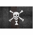 emanuel wynn pirate mosaic textured background vector image vector image