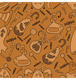 Halloween pumpkin pattern 02 vector image