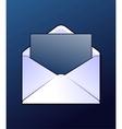 Mail envelop vector image vector image