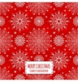 Merry Christmas red seamless pattern vector image vector image