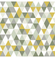 modern triangle seamless pattern abstract vector image vector image