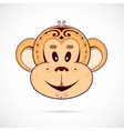 Monkey cartoon vector image vector image