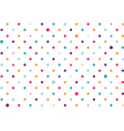 Pastel Colorful Dots White Background