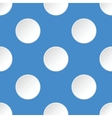 White circles pattern vector image