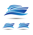 Yacht Boat vector image