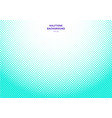 abstract light blue or green halftone radial vector image