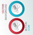 comb scissors barbershop vector image
