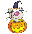 Halloween Mouse vector image vector image