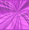 purple curved ray burst background - from curved vector image vector image