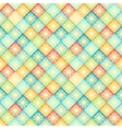 rhombus seamless pattern bright colors geometric vector image vector image