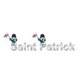 Saint Patrick vector image vector image