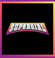 super mom super hero power full typography vector image vector image