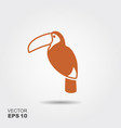Toucan bird icon