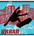 urban skater vector image vector image