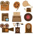 vintage gadgets vector image