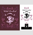 Wild Orchid vector image vector image