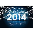 2014 blue blur snow vector image vector image
