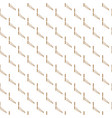 abstract white and gold seamless texture vector image vector image