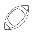 american football sport ball vector image vector image