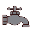 classic faucet icon image vector image vector image