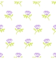 Floral pattern with small roses vector image vector image