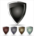 Shield - set vector image vector image