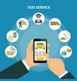 smart taxi app composition