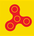 Spinner icon - toy for stress relief and