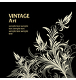 6floral line 40 1 vector image vector image