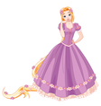 Beautiful Princess vector image vector image