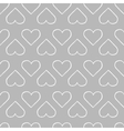 Black and white seamless pattern vector image vector image