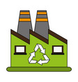 ecology concept save world icon vector image vector image