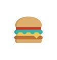 hamburger icon sign symbol vector image vector image