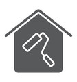 home repair glyph icon real estate and home vector image vector image