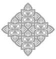 indian Mandala vector image vector image