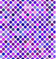 Purple abstract polka dot pattern background vector image vector image
