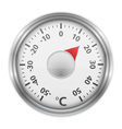 Round Thermometer vector image vector image