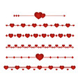 set border wedding vector image vector image