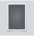 vertical chalk board made white wood vector image vector image